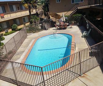 Pool, Park East Apartments