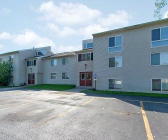 Building, Minoa Estates Apartments