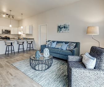 Living Room, Lake Ridge Apartments