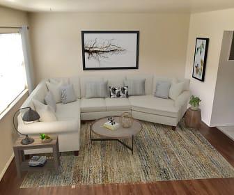 Living Room, Falcon Way Apartments