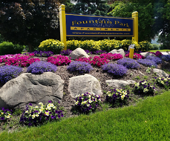 view of community sign, Fountain Park Westland