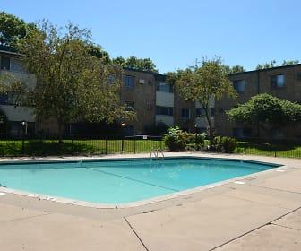 Pool, Goldenstar Apartments