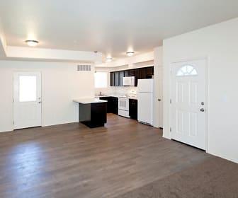 Sunset Ridge Apartments Kitchen and Entryway, Sunset Ridge