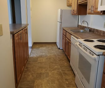 Updated Two Bed Kitchen, North Pointe Commons