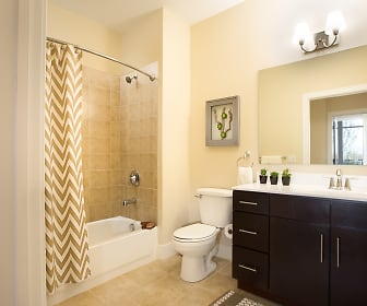 Bathroom, The Residences at Rivers Edge