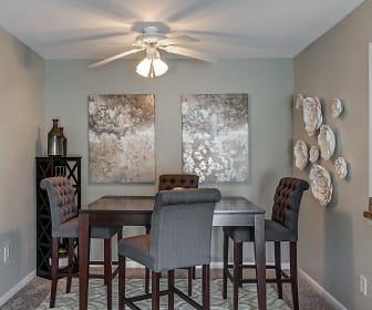 Dining Room, Woods of Fairfax Apartments of Lorton