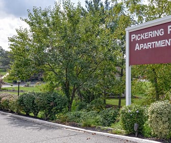 Community Signage, Village Of Pickering Run Apartments