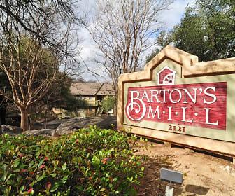 Barton's Mill, South Lawn, Austin, TX