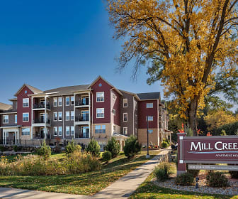 view of community / neighborhood sign, Mill Creek Apartments