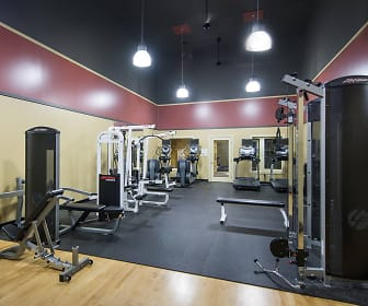 Fitness Weight Room, Crown Pointe
