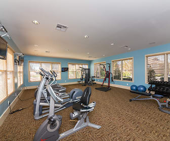 Fitness Weight Room, The Fountains at Meadow Wood
