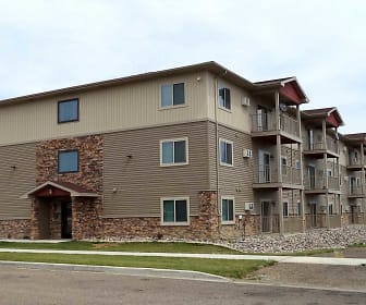 Country View Apartments, Minot High School Magic City Campus, Minot, ND
