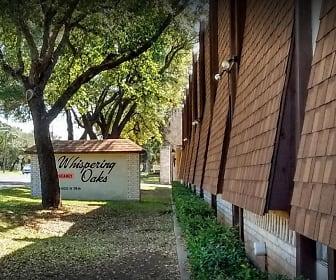 Community Signage, Whispering Oaks Apartments