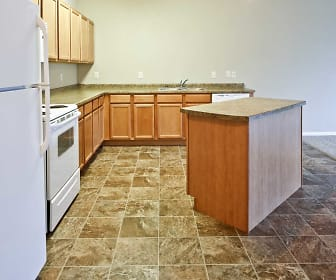 Kitchen, Hunters Creek Apartments