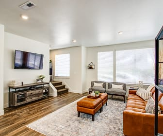Living Room, Aero Luxury Townhomes