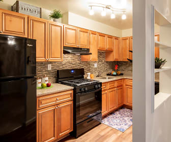 Kitchen, North Shore Gardens Apartments