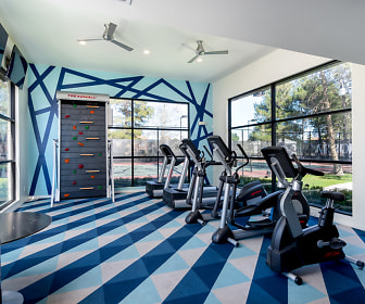 Fitness Weight Room, The Arbors at California Oaks