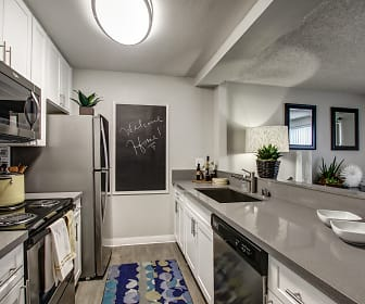 Kitchen, The Breakwater Apartments