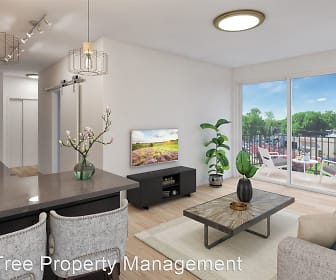 Living Room, Overland Apartments