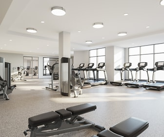Fitness Weight Room, Inwood at Renaissance Square