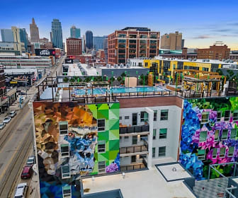 view of property's view of city, City Club Apartments Crossroads KC