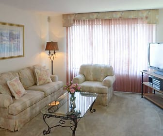 Living Room, Scotchbrook Rental Townhomes