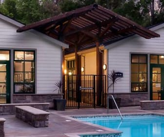 Pool, eaves Pleasanton