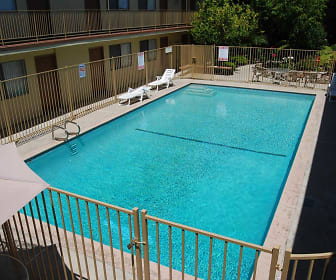 Pool, The Reef Studio Apartments