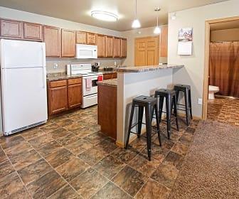 Kitchen, Sidney Apartments