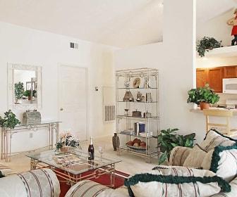 Living Room, Cricket Ridge Apartments