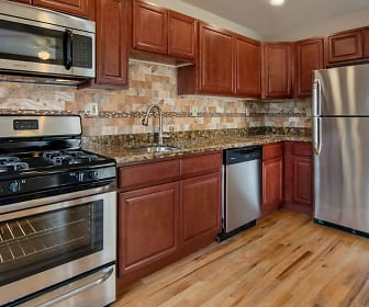 Kitchen, Franklin Manor Apartments