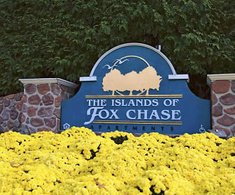 Community Signage, The Islands Of Fox Chase
