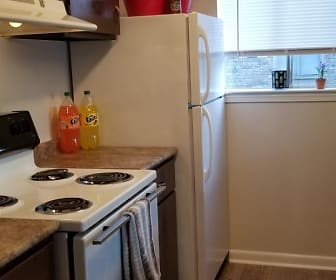 Kitchen, Glenmark Apartments