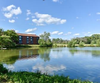 Beautiful lake views at Glenbrook Apartments in North Milwaukee, WI, Glenbrook Apartments