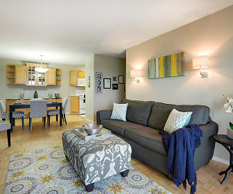 Living Room, The Edina Towers