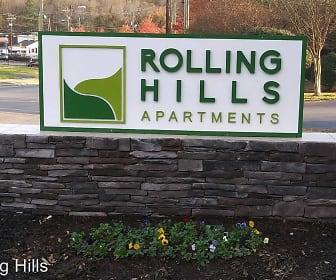 Community Signage, Rolling Hills