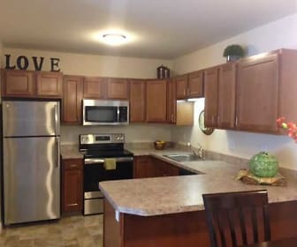 Kitchen, Fairfield Village Senior Apartments