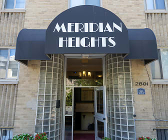 Community Signage, Meridian Heights Apartments