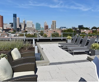 Soak up the sun on our rooftop deck!, 1111 Light Street