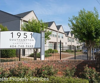Broadway Townhomes, Northcutt Elementary School, College Park, GA
