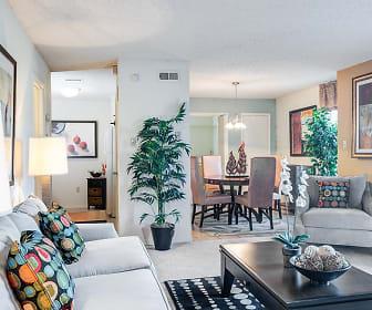 Living Room, Sawmill Creek Apartments