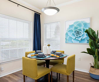Dining Room, Harbortown Luxury Apartments