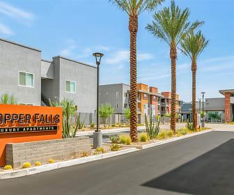 Copper Falls, Raul H Castro Middle School, Phoenix, AZ