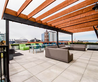 Seattle Apartments - Icon Apartments - Common Rooftop Deck 1, Icon Apartments