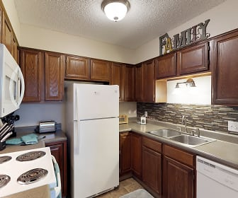 Kitchen, Castlerock Apartments