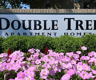 Community Signage, Double Tree Apartments