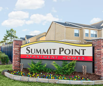 Community Signage, Summit Pointe Apartments