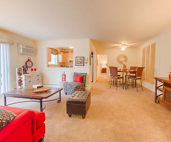 Living Room, Apartments At Pine Brook