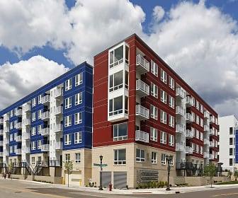 Building, West Side Flats