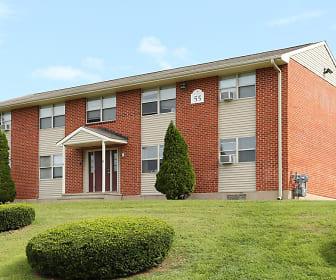 Scott Gardens Apartments, Long River Middle School, Prospect, CT